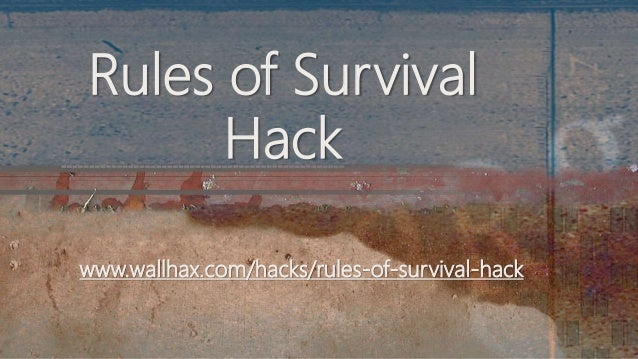 www.wallhax.com/hacks/rules-of-survival-hack Rules of Survival Hack