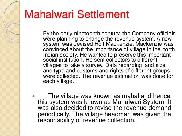 ryotwari system «ryotwari» the ryotwari system, instituted in some parts of british india, was one of the two main systems used to collect revenues from the cultivators of.