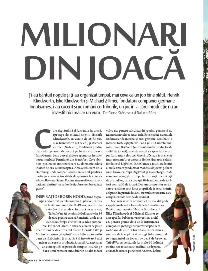 Rumaenisches Forbes Magazin