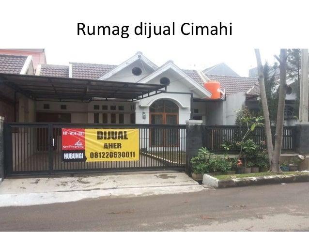 Rumag dijual Cimahi