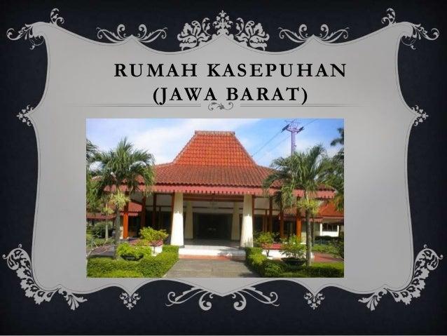 47+ Gambar Rumah Adat Jawa Barat Dan Namanya Gratis Terbaik