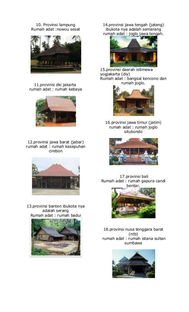 Foto rumah adat di indonesia dan penjelasannya 58