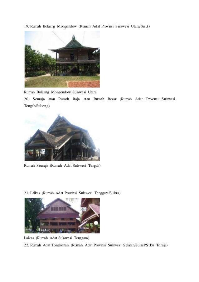 45+ Gambar Rumah Adat Sulawesi Utara Bolaang Mongondow ...
