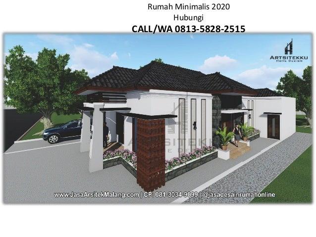Call Wa 0813 3034 9099 Nayla Tampak Depan Rumah Minimalis Malang