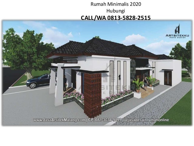 Call Wa 0813 3034 9099 Nayla Jasa Desain Rumah Minimalis Modern Pas