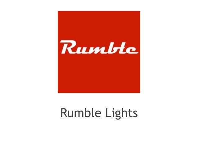 Rumble Lights