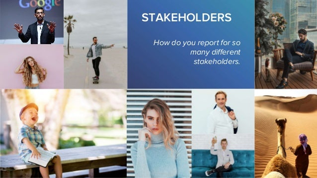 Persona-Led Reporting: Designing Blinding Reports to Keep Every Stakeholder Happy Slide 3