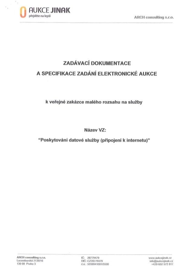 """Veřejná zakázka na """"Poskytnutí datových služeb (připojení k internetu)"""" pro Rumburk"""