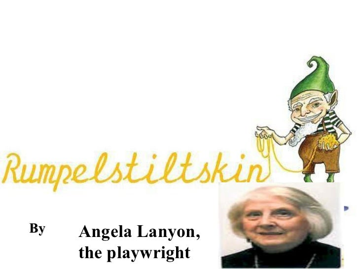 By  Angela Lanyon,  the playwright