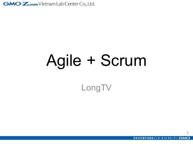 1 Agile + Scrum LongTV