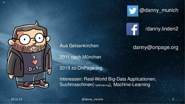 OnPage SEO - Technik Grundlagen - Danny Linden Slide 2