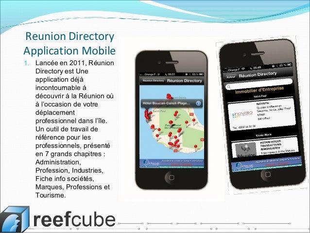 Application r union directory pour iphone et version ipad for Application miroir pour ipad