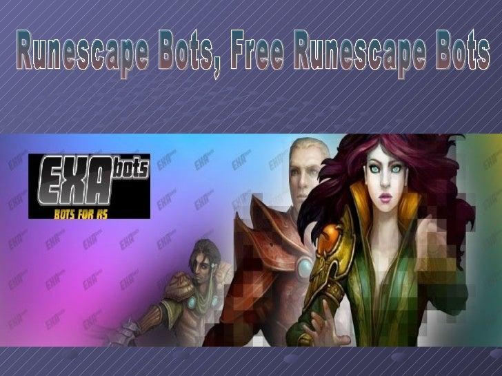 Runescape Bots, Free Runescape Bots