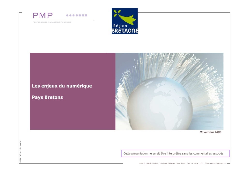 Les enjeux du numérique                                     Pays Bretons                                                  ...