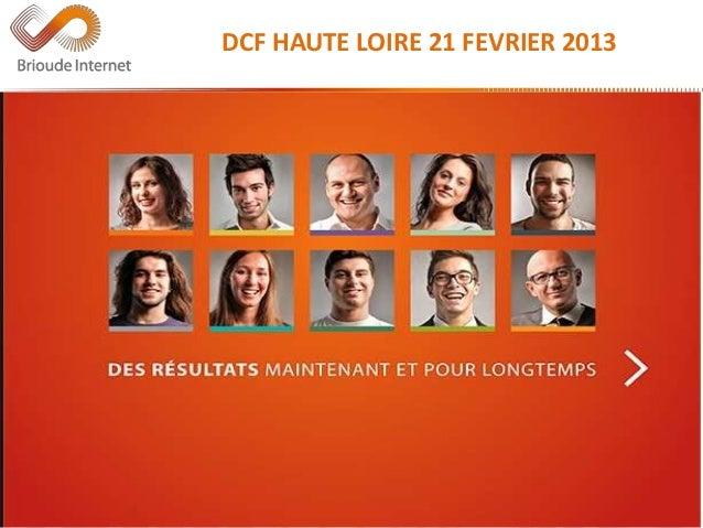 Référérencement Internet - DCF Haute-Loire