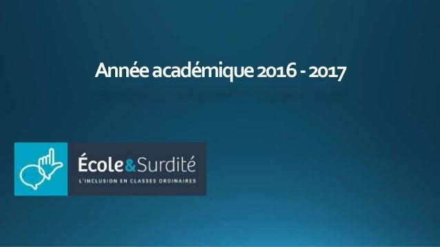 Annéeacadémique2016-2017