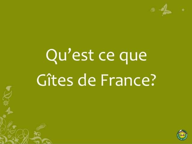 Réunion Pays de St Gilles à destination des propriétaires gîtes et chambres d'hôtes non labellisés Slide 2
