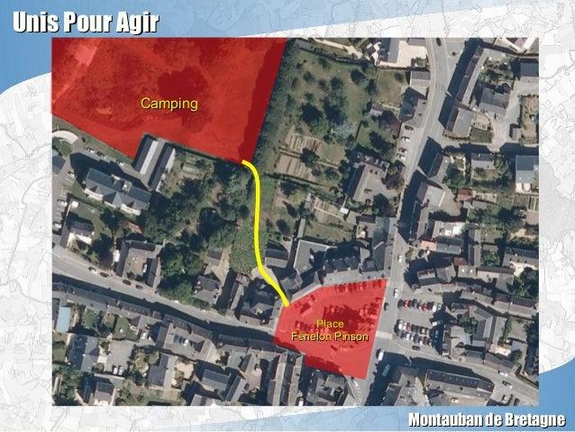 Unis Pour AgirUnis Pour Agir Montauban de BretagneMontauban de Bretagne CampingCamping PlacePlace Fénelon PinsonFénelon Pi...
