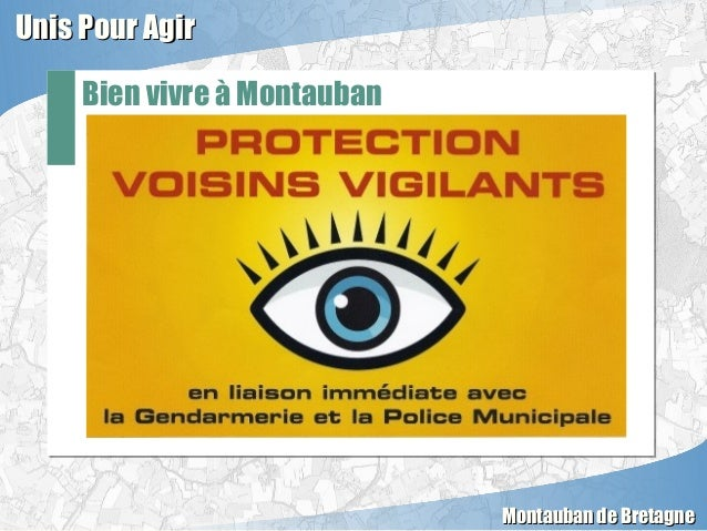 Bien vivre à Montauban Unis Pour AgirUnis Pour Agir Montauban de BretagneMontauban de Bretagne