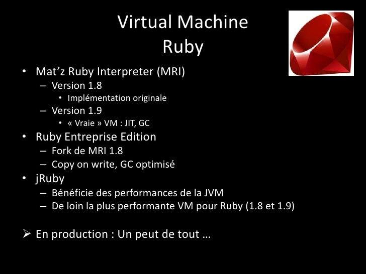 Run Java Vs Ruby