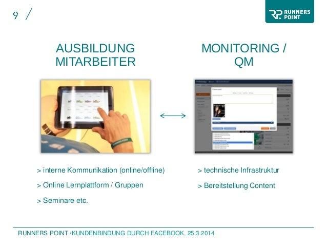 RUNNERS POINT /KUNDENBINDUNG DURCH FACEBOOK, 25.3.2014 > interne Kommunikation (online/offline) > Online Lernplattform / G...