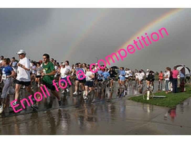 Run and be happy and healthy enroll for a competition publicscrutiny Choice Image
