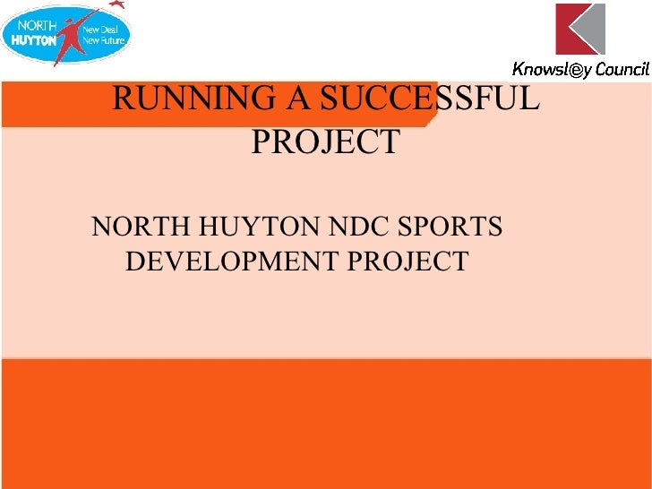 NORTH HUYTON NDC SPORTS DEVELOPMENT PROJECT RUNNING A SUCCESSFUL PROJECT