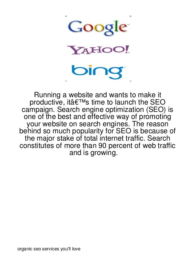 Running a website and wants to make it     productive, it's time to launch the SEO  campaign. Search engine optimization...