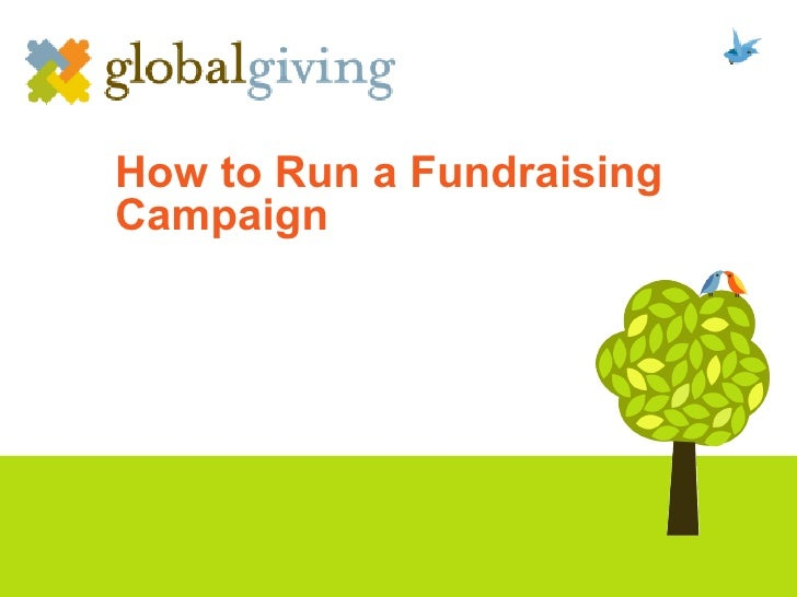 How to Run a Fundraising Campaign