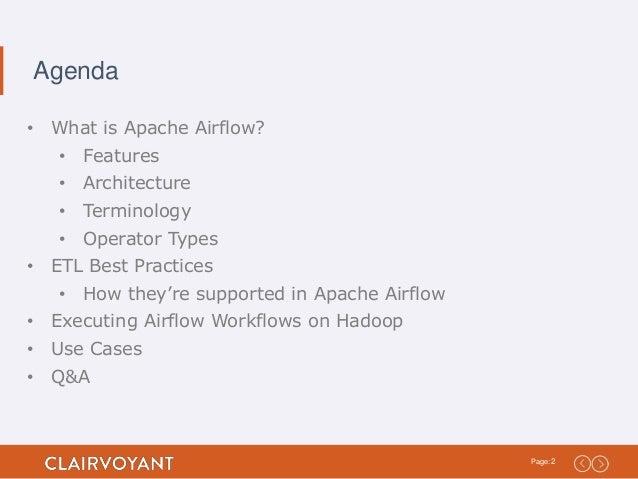 Running Apache Airflow Workflows as ETL Processes on Hadoop Slide 2