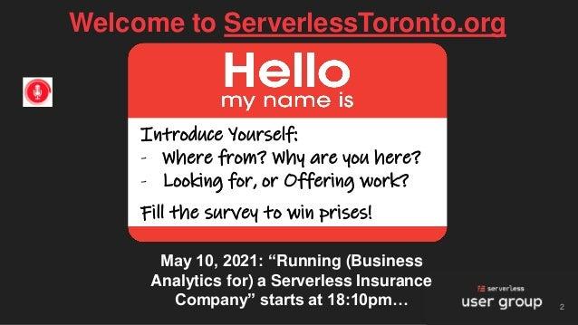 Running Business Analytics for a Serverless Insurance Company - Joe Emison & Fivetran Slide 2