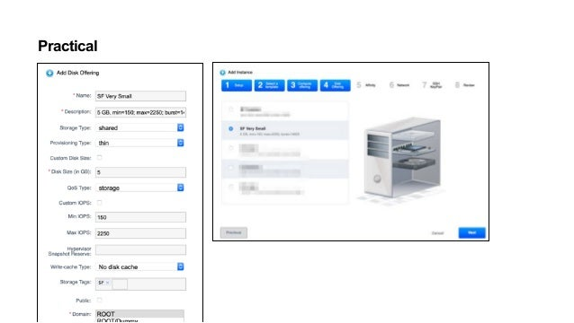 Practical NetApp HCI - CloudStack Volume View