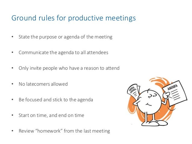 problems of effective meetings If you are called upon to chair meetings, you will doubtless encounter some  common problems that occur when any group of people get together while these .