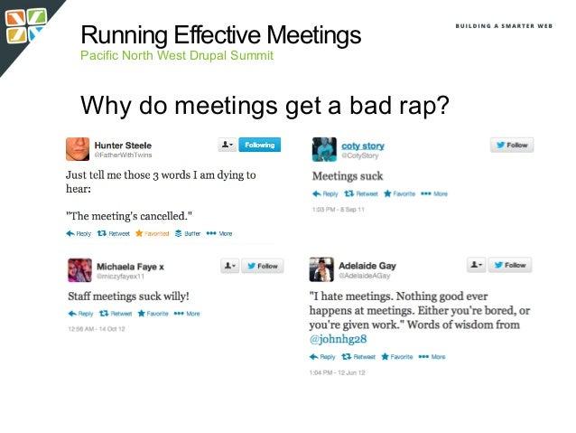Running effective meetings   pnwds Slide 2