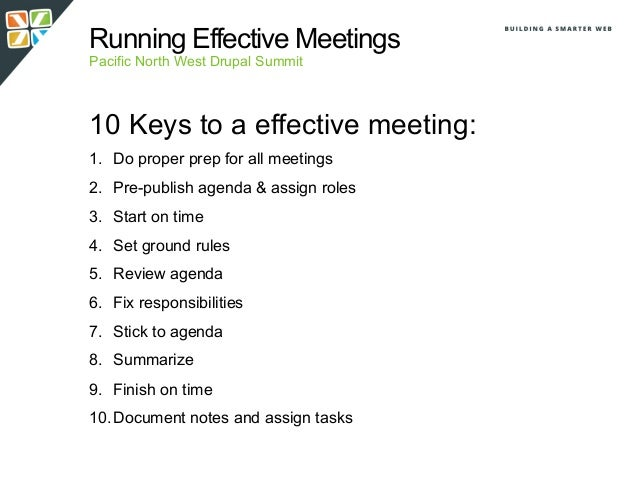 """what are the rules of a great meeting Seven steps to running the most effective meeting possible  such as """"status updates,"""" are rarely a good use of time  establishing ground rules early on will create a framework for how ."""