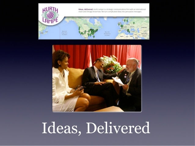 Ideas, Delivered