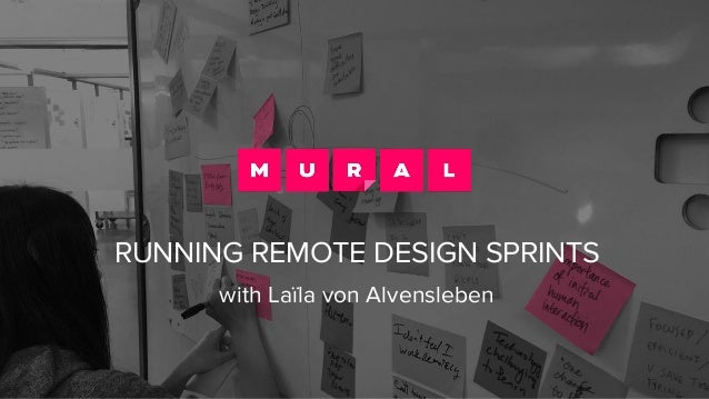 RUNNING REMOTE DESIGN SPRINTS with Laïla von Alvensleben