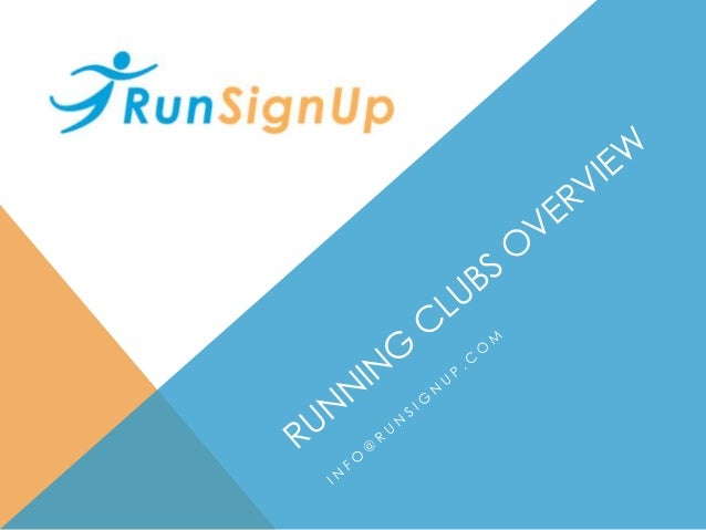 AGENDA • RunClubSignUp Philosophy & Club History • RunSignUp Clubs • RunSignUp Clubs Today • Birmingham Track Club • Lehig...