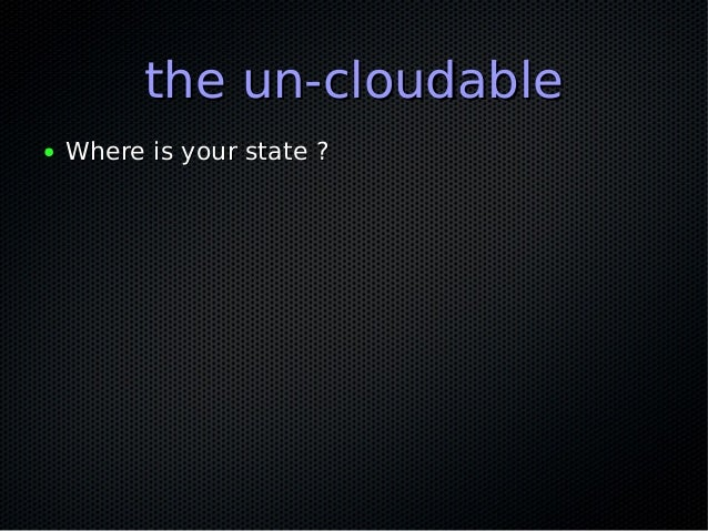 the un-monitorablethe un-monitorable ● Is this thing even on ?Is this thing even on ? ● Logs ?Logs ? ● Log verbosity ?Log ...