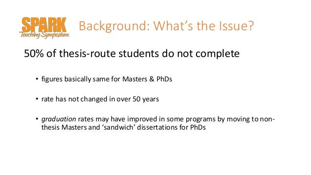 Supporting Graduate Writing in a Thesis or Dissertation Slide 3