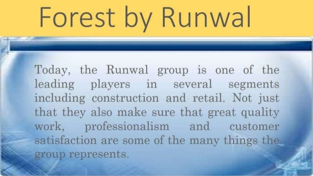 Know About Runwal Group Slide 2