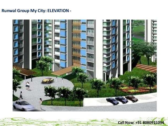 Runwal My City Dombivali Codename Mydesire Price Location Site P - What's the elevation at my location