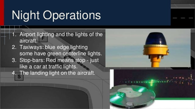 Runway Incursion Airport Signage And Markings Presentation For Fut - Airport lighting diagram