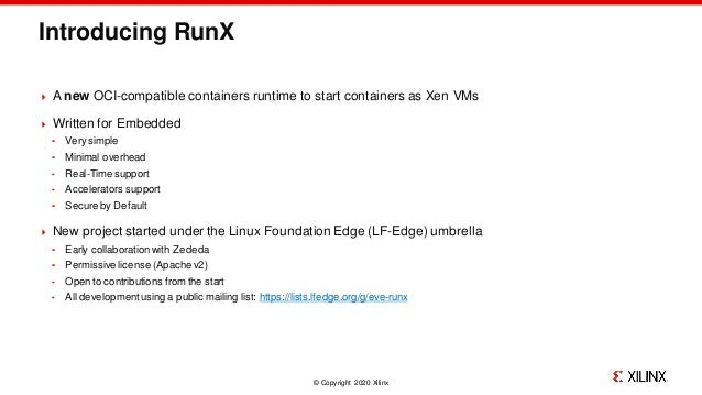 RunX: deploy real-time OSes as containers at the edge Slide 2
