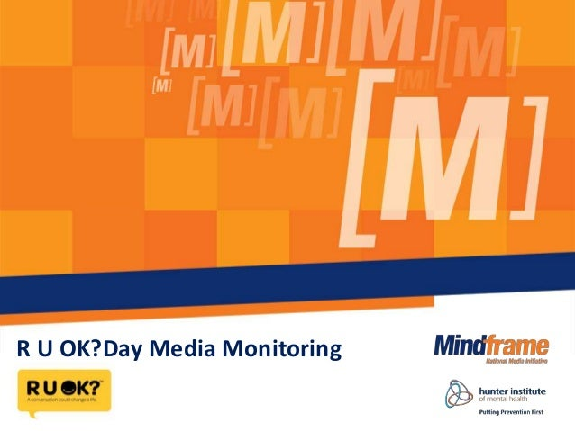 R U OK?Day Media Monitoring