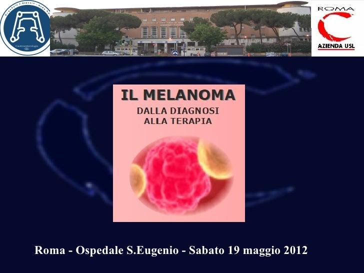 Roma - Ospedale S.Eugenio - Sabato 19 maggio 2012