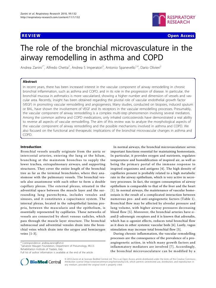 Zanini et al. Respiratory Research 2010, 11:132http://respiratory-research.com/content/11/1/132 REVIEW                    ...