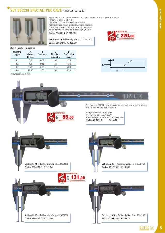 Officina calibro a corsoio digitale 1500/mm in alluminio con inserto becco
