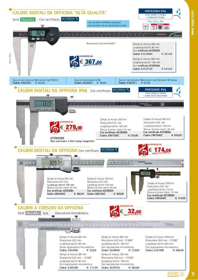 Officina calibro a corsoio digitale 500/mm in alluminio con inserto becco