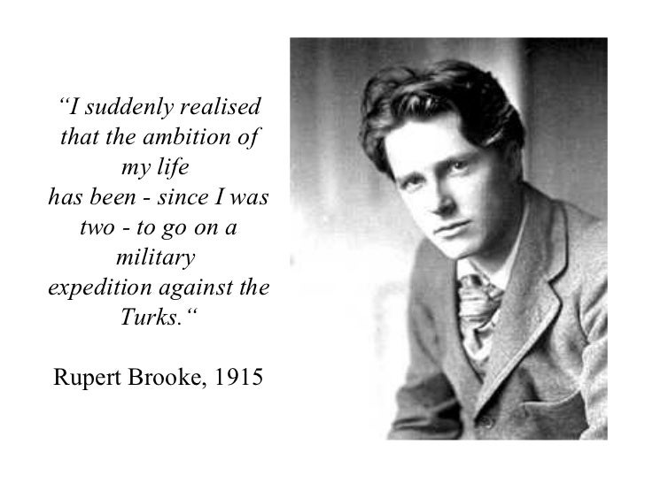 the great lover rupert brooke In the summary of the great lover by rupert brooke, love as a theme blossoms as the poet depicts his journey through the course of his life a poster boy for doomed youth, rupert brooke's fame rests on his war poems which make him one of the finest poets in the history of english literature.